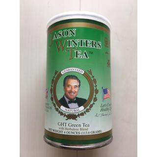 ジェイソンウィンターズティー 緑茶4オンス缶(113.6g)(健康茶)