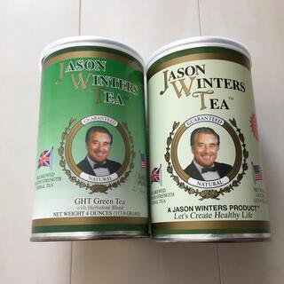 ジェイソンウィンターズティー ウーロン&緑茶セット4オンス缶(113.6g×2)(健康茶)