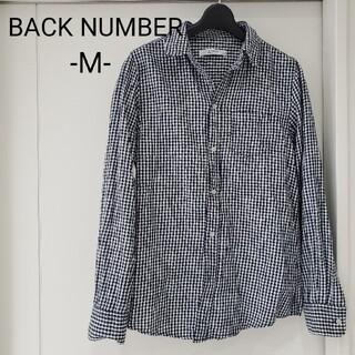 バックナンバー(BACK NUMBER)のBACK NUMBER ブラウス チェック M レディース メンズ ユニセックス(シャツ/ブラウス(長袖/七分))