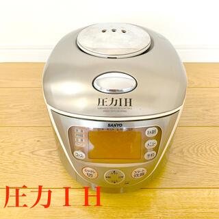 サンヨー(SANYO)の【炊飯器 】圧力IH SANYO 日本製(炊飯器)