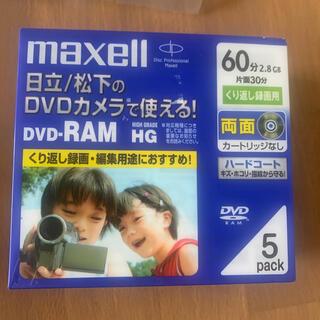 マクセル(maxell)のmaxell DVD-RAM 5パック(その他)