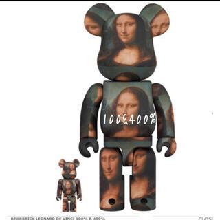 メディコムトイ(MEDICOM TOY)のBE@RBRICK Mona Lisa 100&400% モナリザ(その他)