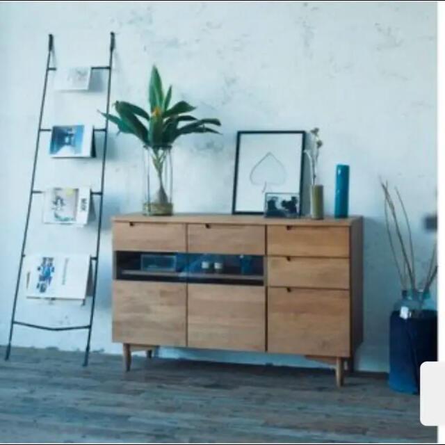 unico(ウニコ)の  専用!unico/ウニコ WYTHE cabinet(ワイス キャビネット) インテリア/住まい/日用品の収納家具(リビング収納)の商品写真