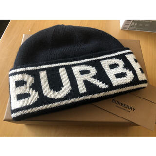 バーバリー(BURBERRY)のBURBERRY ニット帽(ニット帽/ビーニー)