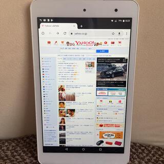 KYOCERA Qua tab QUA TAB 01 ホワイト
