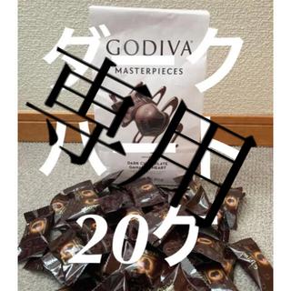 コストコ(コストコ)の★取り置き・ダークハート40個★コストコ GODIVAマスターピースチョコレート(菓子/デザート)