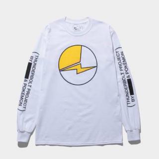 フラグメント(FRAGMENT)の新品 FRAGMENT POKEMON THUNDERBOLT ロンT L(Tシャツ/カットソー(七分/長袖))