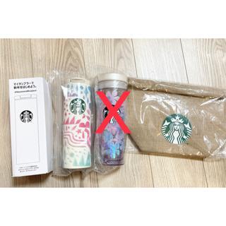 スターバックスコーヒー(Starbucks Coffee)のスターバックス 2021 福袋 タンブラー スタバ 水筒 ジュートバッグ(タンブラー)