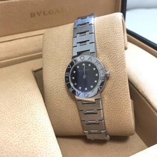 BVLGARI - BVLGARIブルガリブルガリ BB26SS 12Pダイヤ腕時計