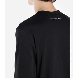 コムデギャルソンオムプリュス(COMME des GARCONS HOMME PLUS)のComme des Garçons SHIRT 長袖Tシャツ 黒(Tシャツ/カットソー(七分/長袖))