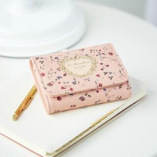 レメルヴェイユーズラデュレ(Les Merveilleuses LADUREE)のGLOW付録 レ・メルヴェイユーズ ラデュレ 三つ折りミニ財布 (財布)
