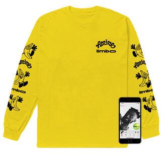 ジーディーシー(GDC)の新品 Lサイズ Limbo x Verdy Yellow Longsleeve(Tシャツ(長袖/七分))