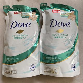 ユニリーバ(Unilever)のダヴ ボディウォッシュ センシティブマイルド つめかえ用360g ①(ボディソープ/石鹸)