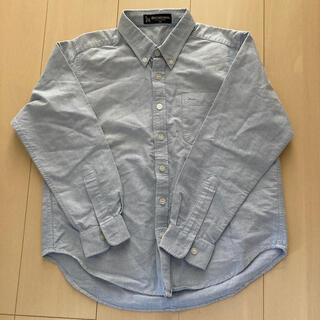 130 ブルー シャツ 美品(ドレス/フォーマル)