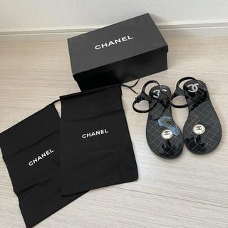 CHANEL - シャネル ビーチサンダル パール chanel