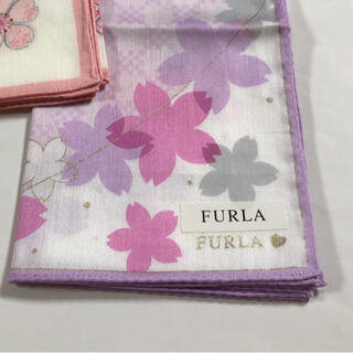 Furla - FURLA     ハンカチ 🌸桜  *新品*
