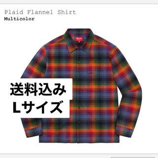 Supreme - 送料込み Supreme Plaid Flannel Shirt L マルチ