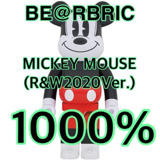 ディズニー(Disney)のBE@RBRICK MICKEYMOUSE(R&W 2020 Ver.)1000(フィギュア)