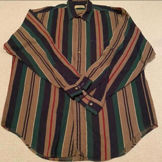エルエルビーン(L.L.Bean)のエルエルビーン ストライプシャツ(シャツ)