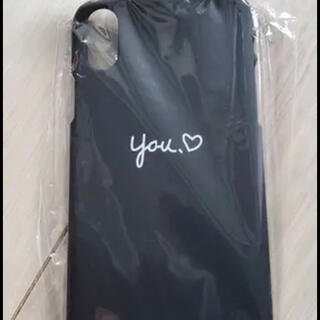iPhonexs iPhone xs iPhoneケース ペアケース 黒 (iPhoneケース)