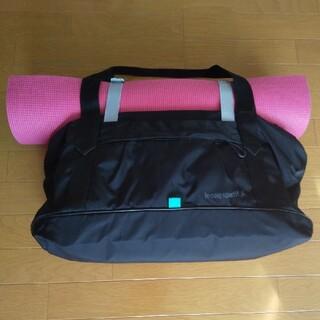 【美品】ルコック(ルコックスポルティフ)のヨガマット用スポーツバッグ(ヨガ)