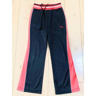 プーマ(PUMA)のPUMA☆プーマジャージー女の子140グレー腰紐あり(パンツ/スパッツ)
