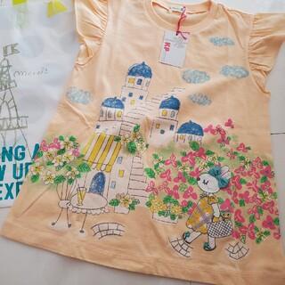 ニットプランナー(KP)の新品未使用リゾートみみちゃん130(Tシャツ/カットソー)