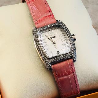 フォリフォリ(Folli Follie)の【美品】【未使用】フォリフォリ 腕時計 スワロフスキー(腕時計)