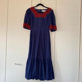 シーニューヨーク(Sea New York)のsea new york 刺繍 ドレス(ロングワンピース/マキシワンピース)