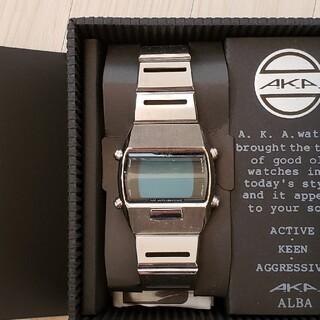 アルバ(ALBA)のALBA メンズ デジタル腕時計(腕時計(デジタル))