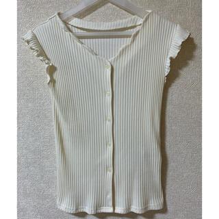 エージーバイアクアガール(AG by aquagirl)のノースリーブニット(シャツ/ブラウス(半袖/袖なし))