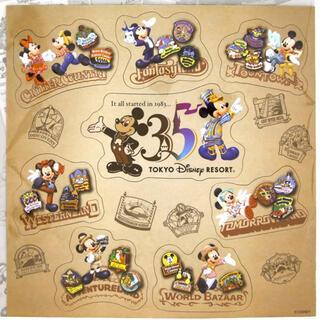 ディズニー(Disney)のDisney ディズニーリゾート 35周年マグネットシート(キャラクターグッズ)