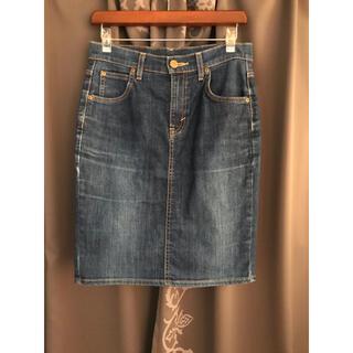 リー(Lee)のLEE デニムタイトスカート デニムスカート(ひざ丈スカート)