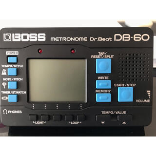 ボス(BOSS)のyuyu様専用 メトロノーム Dr.Beat BOSS DB-60(その他)