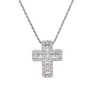ダミアーニ(Damiani)のダミアーニ  ベルエポック クロスダイヤ XS ネックレス(ネックレス)
