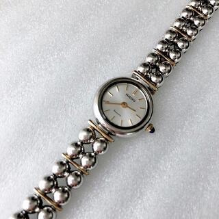 ラドー(RADO)のRADO レディースクォーツ腕時計 稼動品 予備コマあり(腕時計)