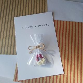 ドライフラワーの小袋☆メッセージ☆(ドライフラワー)