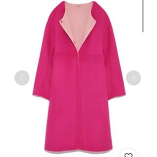 FRAY I.D - フレイアイディー リバーシブル  ピンク コート