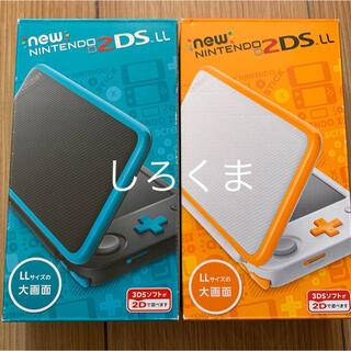 ニンテンドー2DS(ニンテンドー2DS)の2dsll   2台(携帯用ゲーム機本体)
