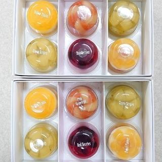 nanadolly様専用たかはたファーム ミックスゼリー詰合せ(6個)☓2箱(菓子/デザート)