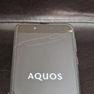 ANDROID - AQUOS sense SH-01K docomo 画面割れ