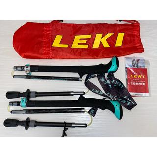 レキ(LEKI)のLEKI トレッキングポール  マイクロバリオ カーボンWs AS ブラック(登山用品)