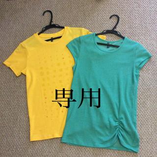 ゴールドウィン(GOLDWIN)のダンスキン  ティシャツ 2枚 プーマ黒付(ヨガ)