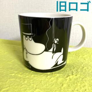 アラビア(ARABIA)のアラビア ムーミン マグカップ アラビア マグカップ ムーミンパパ 【廃盤品】(グラス/カップ)