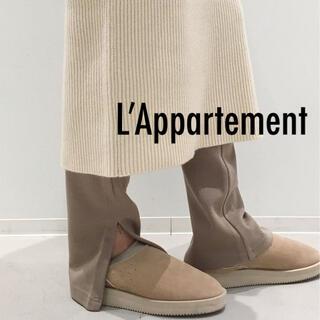 アパルトモンドゥーズィエムクラス(L'Appartement DEUXIEME CLASSE)の新品未使用 ★ L'Appartement ★Wool Zip Leggings(レギンス/スパッツ)