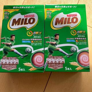 ネスレ(Nestle)のネスレ ミロ スティックタイプ 15g×10本 おまけ2本(その他)