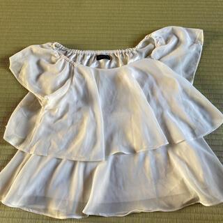 スピーガ(SPIGA)の白ブラウス(シャツ/ブラウス(半袖/袖なし))