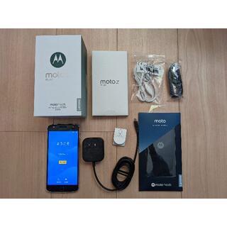 モトローラ(Motorola)のMOTOROLA Moto Z Play SIMフリー 32GB 国内版 黒(スマートフォン本体)