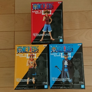 バンプレスト(BANPRESTO)の【新品未開封】ワンピース magazine figure フィギュア 3個セット(アニメ/ゲーム)
