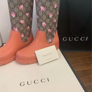 グッチ(Gucci)のGUCCIの長靴(キッズ)(長靴/レインシューズ)
